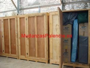 Embalajes guardamuebles Palencia
