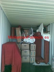 camión Mudanzas Palencia