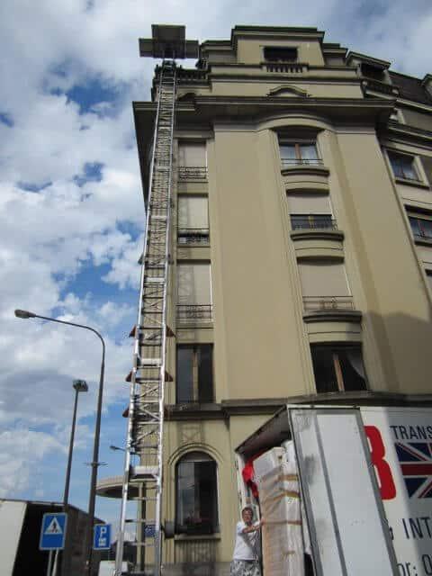 elevador de mudanzas en Palencia
