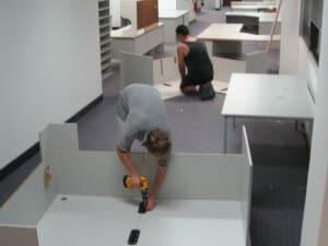 montaje oficinas Palencia