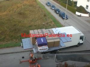 mudanzas baratas Palencia