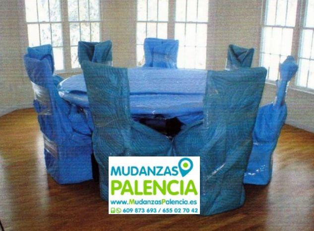 Mudanza en Palencia