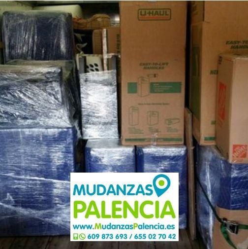 Mudanzas compartidas en Palencia