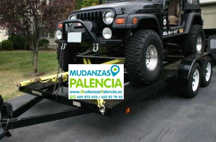 Mudanzas de Automoviles en Palencia