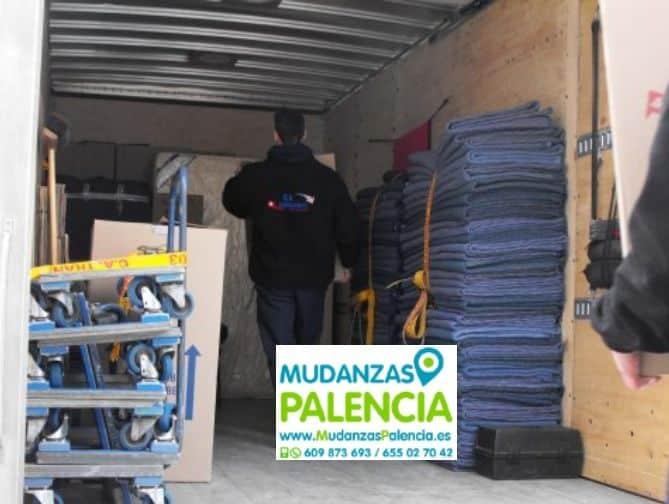 Mudanzas de Muebles en Palencia