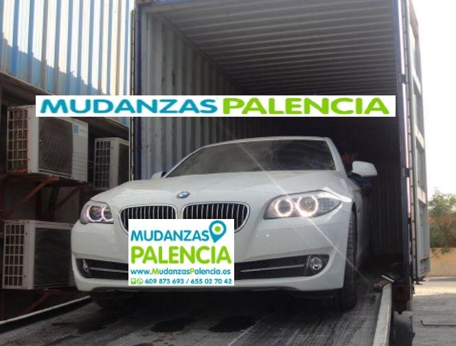Mudanzas de coches en Palencia