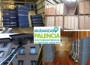 Mudanzas de muebles Palencia