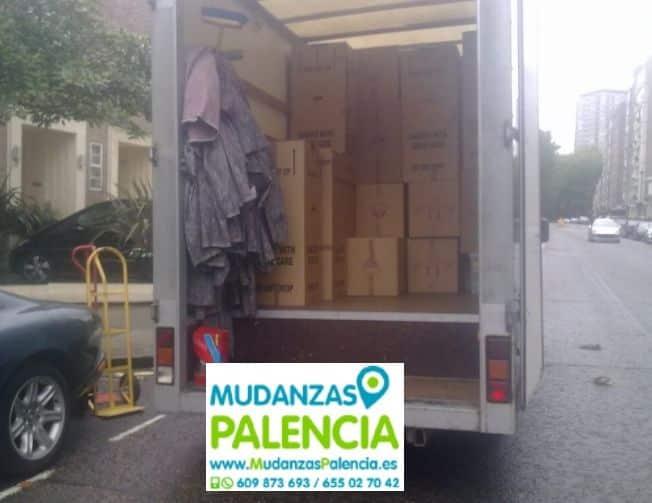 Mudanzas en Palencia (Palencia)