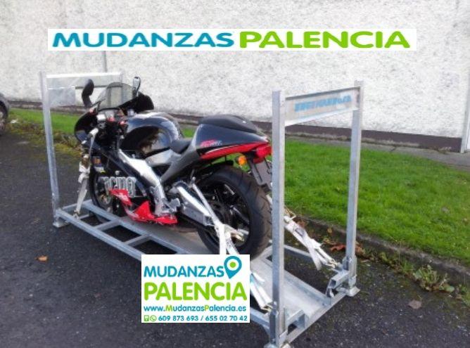 Mudanzas motos Palencia