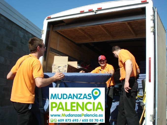 Mudanzas para Empresas en Palencia