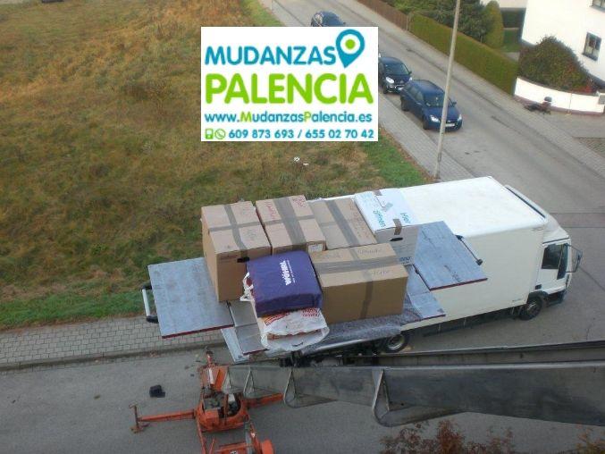Servicios Mudanzas Palencia