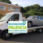 Transporte de automoviles en Palencia