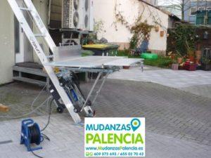 elevador mudanzas Palencia