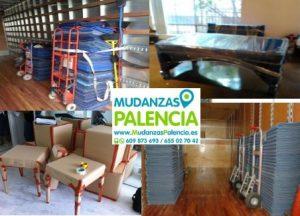 precio mudanza Palencia