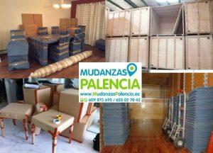 servicio de mudanza Palencia